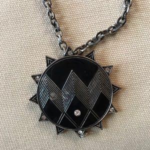 Black Sun Necklace